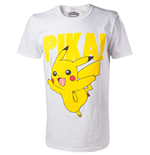 Pokémon - Pikachu T-shirt with Raised print