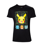 Pokémon - Pikachu and Friends camo T-shirt