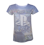 PlayStation - Ladies all over print t-shirt