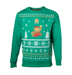 Nintendo - Jumping Mario Christmas Sweater