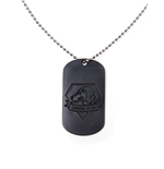 Metal Gear Solid - Dog Tag with Diamond Dog Logo
