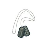 Mass Effect - Metal Dogtags With Logo