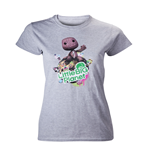 Little Big Planet - Grey Melange Girls Tee