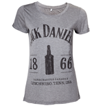 Jack Daniel's - Ladies T-shirt 1866 Grey