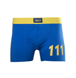 Fall Out 4 - Blue Boxershort With Yellow 111 Logo