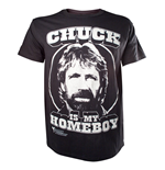Chuck Norris - Chuck is my Homeboy T-shirt