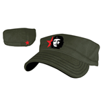 Che - Youth Green Military Flex Cap