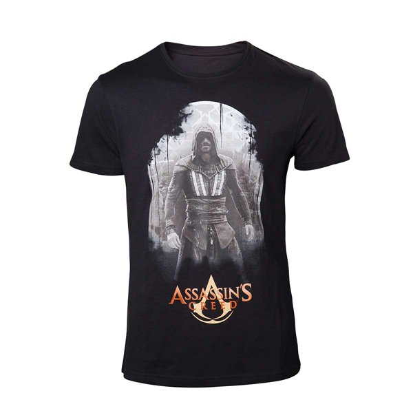 Assassin's Creed Movie - Aguilar on Black T-shirt