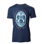 Assassin's Creed - Find Your Past Brain Crest T-shirt