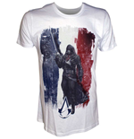 Assassin's Creed Unity - French Flag with Arno T-shirt
