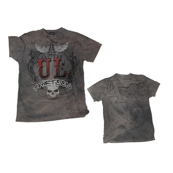 UL13 Logo - Grey. Returned Vintage Tee
