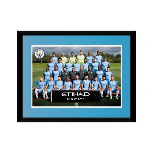 Manchester City F.C. Picture Squad 8 x 6