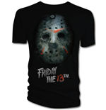 Friday the 13th T-Shirt Bloody Mask