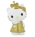 Hello Kitty Mini Figure Hello Kitty Gold 6 cm