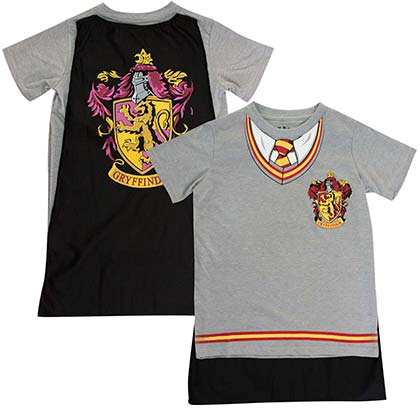 HARRY POTTER Gryffindor Youth Cape Costume Tee Shirt