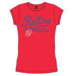 The Rolling Stones Ladies Tee: Team Logo