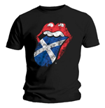 The Rolling Stones Men's Tee: Scotland Tongue