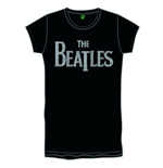 The Beatles Ladies Premium Tee: Drop T Logo