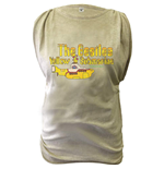 The Beatles Ladies Fashion Tee: Yellow Submarine