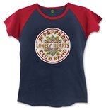 The Beatles Ladies Fashion Tee: Sgt. Pepper