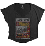 The Beatles Ladies Fashion Tee: Live in Liverpool