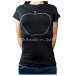 The Beatles Ladies Fashion Tee: On Apple
