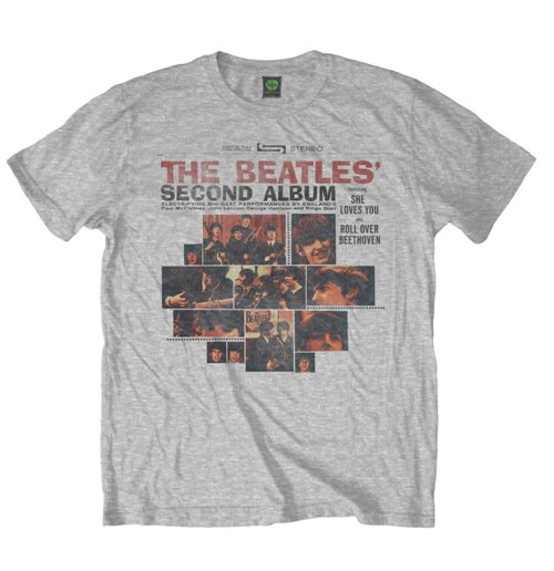The Beatles Men's Tee: Second Album