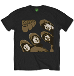 The Beatles Men's Tee: Rubber Soul Sketch