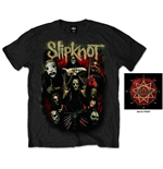 Slipknot Men's Tee: Come Play Dying
