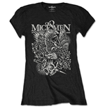 Of Mice & Men Ladies Tee: Eagle