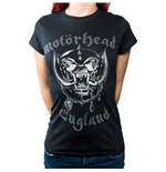 Motorhead Ladies Fashion Tee: England