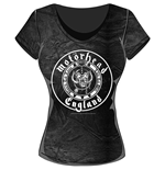 Motorhead Ladies Fashion Tee: England Seal