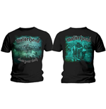 Motorhead Men's Tee: Clean Your Clock Green