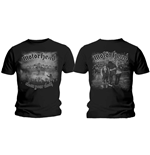 Motorhead Men's Tee: Clean Your Clock B&W