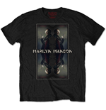 Marilyn Manson Men's Tee: Mirrored