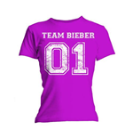 Justin Bieber Ladies Tee: Team Bieber