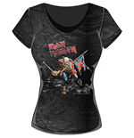 Iron Maiden Ladies Fashion Tee: Trooper