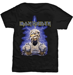 Iron Maiden Men's Tee: Power Slave Mummy