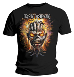 Iron Maiden Men's Tee: Eddie Exploding Head