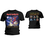 Iron Maiden Mens Tee: Legacy Beast Fight