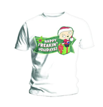 Family Guy Men's Tee: Freakin Holidays