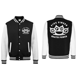 Five Finger Death Punch Men's Varsity Jacket: Knuckleduster