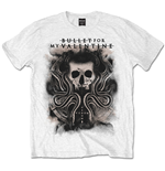 Bullet For My Valentine Men's Tee: Snakes & Skull