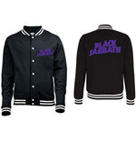 Black Sabbath Men's Varsity Jacket: Wavy Logo