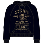Avenged Sevenfold Men's Hooded Top: Seize the day
