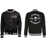 Avenged Sevenfold Men's Varsity Jacket: Death Bat