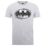 DC Comics Men's Tee: Batman Sketch Logo