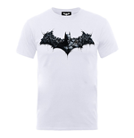DC Comics Men's Tee: Batman Arkham Origins Shield
