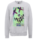 DC Comics Men's Sweatshirt: Suicide Squad Movie Poster