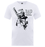 DC Comics Men's Tee: Suicide Squad Bad Girl